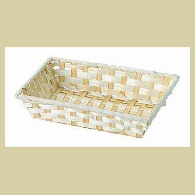 まとめ買い特価400P『竹』四角タイプトレー「21.5×14.5×5cm」/ナチュラル