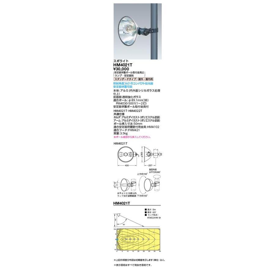 岩崎電気 施設照明 施設照明 施設照明 HIDランプ丸形投光器 スポライト スタンダードタイプ HM4021T ed1