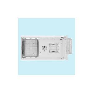 日東工業 ホーム分電盤 WHMスペース付 単相3線式(ドア付・スチール製キャビネット) リミッタスペースなし 露出・埋込共用型 主幹3P50A 分岐12+4 HMB3WE5-124A