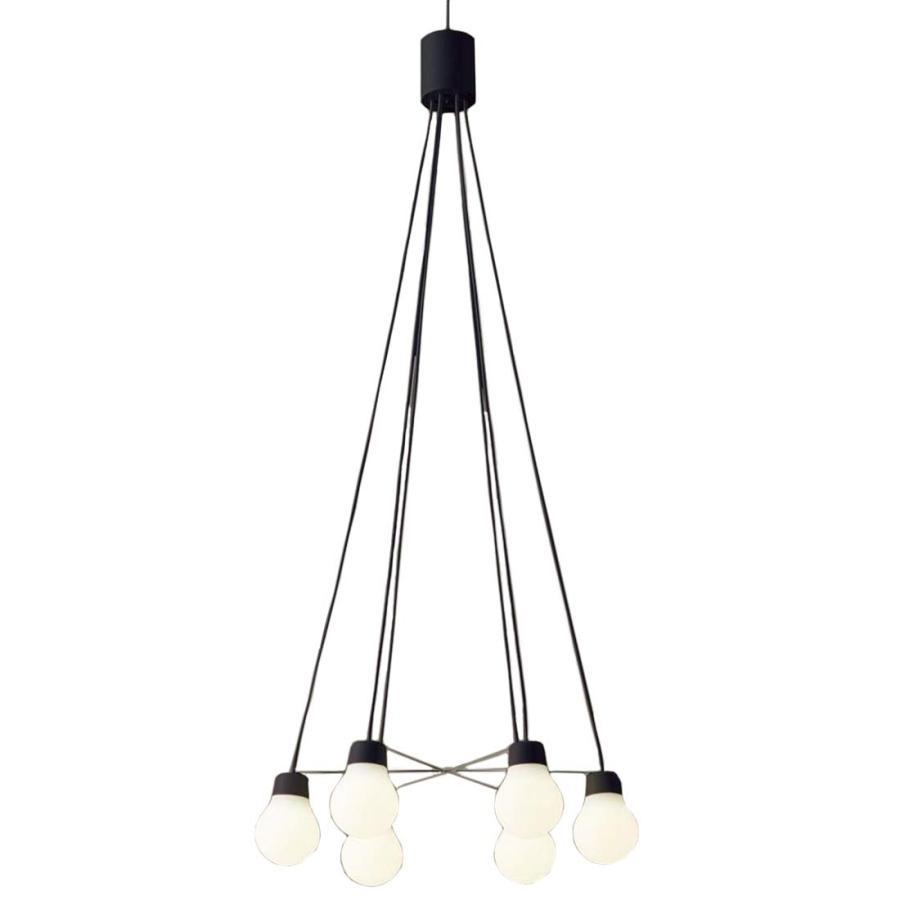 Panasonic 照明器具 LAMP LAMP DESIGNシリーズ LED吹き抜け灯 ペンダントライト 電球色 拡散タイプ 直付タイプ 白熱電球60形6灯器具相当 LGB19628BCE1