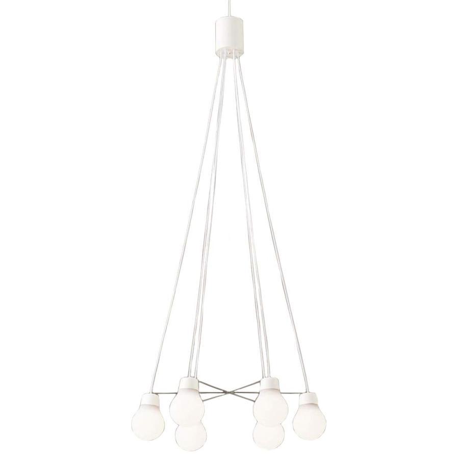 Panasonic 照明器具 LAMP DESIGNシリーズ LED吹き抜け灯 ペンダントライト 温白色 拡散タイプ 直付タイプ 白熱電球60形6灯器具相当 LGB19629WCE1