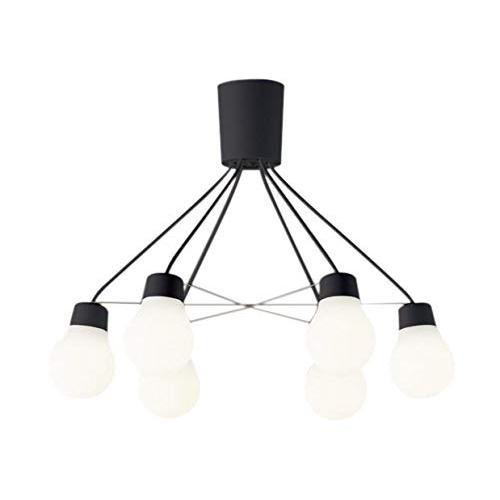 Panasonic 照明器具 LAMP DESIGNシリーズ LEDシャンデリア LEDシャンデリア 電球色 吊下型 〜6畳 拡散タイプ 引掛シーリング方式 白熱電球60形6灯器具相当 LGB57628BCE1