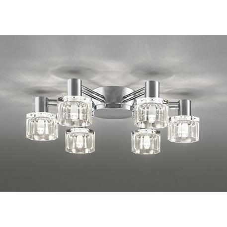 オーデリック 照明器具 LEDシャンデリア 電球色 OC257019LC 【〜6畳】