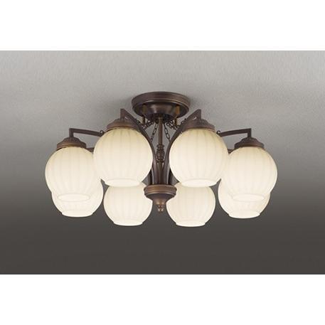 オーデリック 照明器具 LEDシャンデリア 電球色 OC257077LD 【〜8畳】