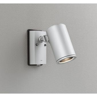 オーデリック 照明器具 エクステリア LEDスポットライト COBタイプ 人感センサ付 人感センサ付 人感センサ付 電球色 ミディアム配光 ビーム球150W相当 OG254541P1 238