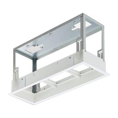 マックスレイ 照明器具部材 SYGNUS SYSTEM DOWN用 3灯用深型フレーム 125×350 OP01543-00