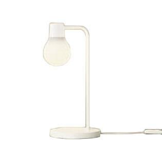 Panasonic 照明器具 LAMP DESIGNシリーズ LEDデスクスタンド 電球色 卓上型 拡散タイプ 中間スイッチ付 白熱電球60形1灯器具相当 SC438W