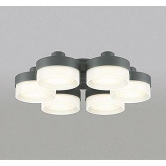 オーデリック 照明器具 LEDシーリングファン用灯具 調光・調色 薄型ガラスタイプ×6灯タイプ WF269PC 【〜10畳】