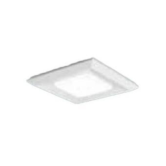 Panasonic 一体型LEDベースライト 直付/埋込兼用 スクエア光源 □570 コンパクト形蛍光灯FHP45形3灯器具相当 電球色 調光 下面開放型 下面開放型 9000lm XLX191AELRZ9