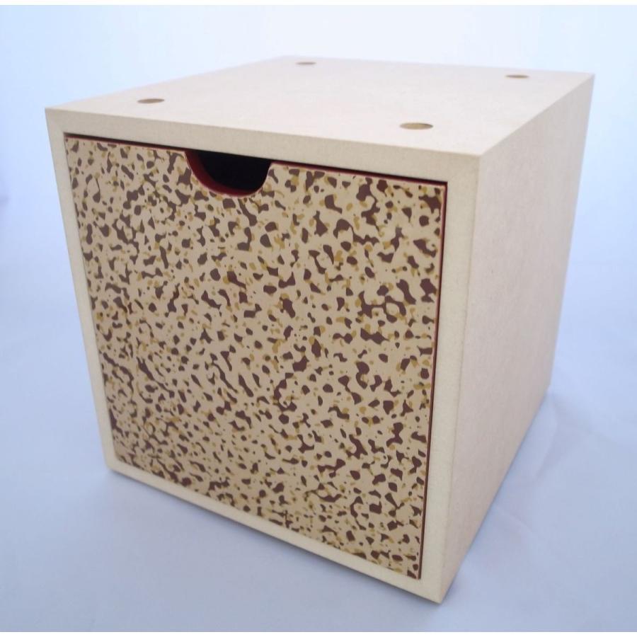 収納ボックス 迷彩塗ベージュ tsugaru-ishioka