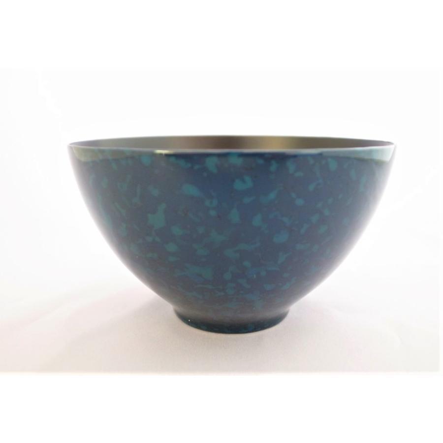 カフェボウル 木製 ブルー|tsugaru-ishioka