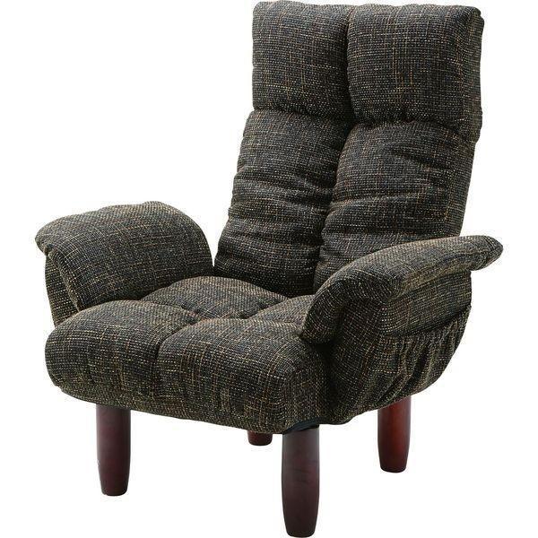 脚付 パーソナルチェア いす イス イス 椅子 チェア AZUMAYA RKC-39BR BR おしゃれ デザイン家具 インテリア 家具 同梱不可 代引不可