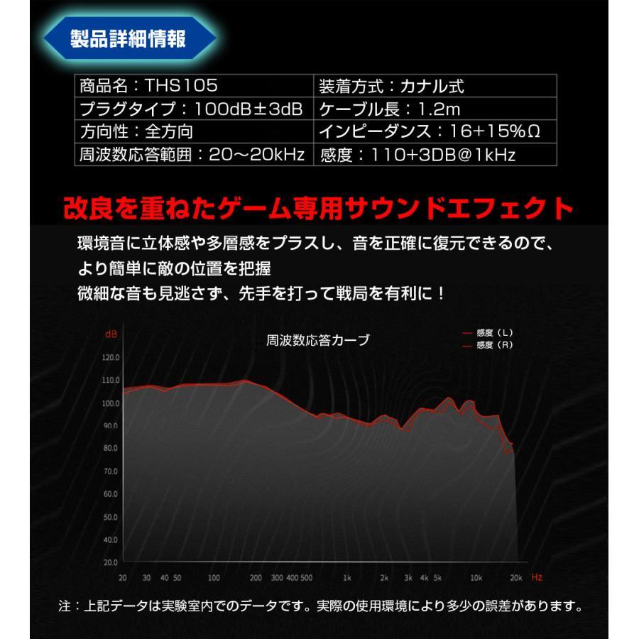 ゲーミングイヤホン Wマイク付き ゲーミングヘッドセット フォートナイト スイッチ オンライン zoom スカイプ ボイスチャット|tsuiteru-shouten|12
