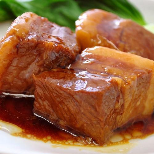 角煮 肉 豚 豚肉 かくに 豚角煮 430g×1袋 業務用 惣菜 豚肉 豚バラ おかず おつまみ 煮豚 冷凍 同梱可能|tsukiji-ichiba2|07