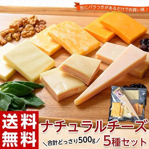 チーズ 訳あり 不揃い ナチュラルチーズ5種セット 500g おつまみ 冷凍同梱可 冷凍 送料無料 tsukiji-ichiba2