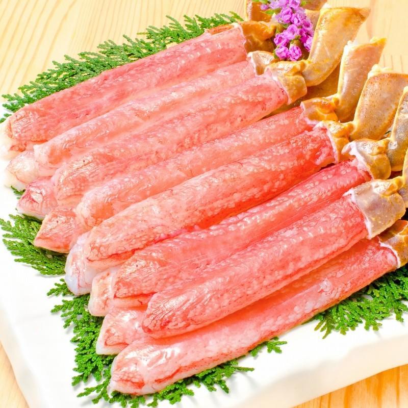 かにセット かにざんまい 築地 超特大 タラバガニ 7L 1kg かにしゃぶ用 特大 ズワイガニ ポーション 5L 500g 特大 タラバ爪 1kg 特大 毛がに 570g 正規品 お歳暮 tsukiji-ousama 05
