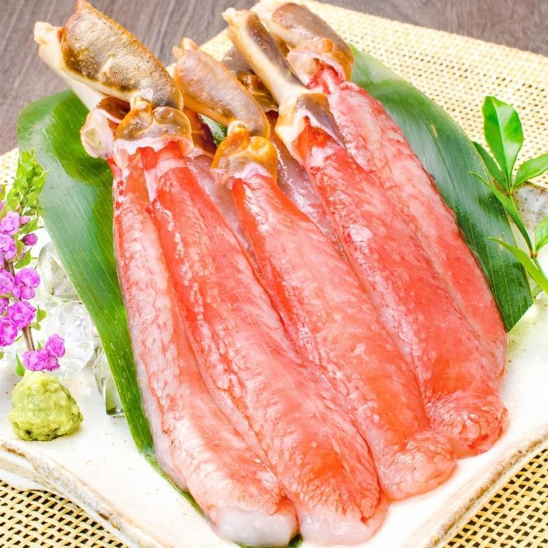 かにセット かにざんまい 築地 超特大 タラバガニ 7L 1kg かにしゃぶ用 特大 ズワイガニ ポーション 5L 500g 特大 タラバ爪 1kg 特大 毛がに 570g 正規品 お歳暮 tsukiji-ousama 06