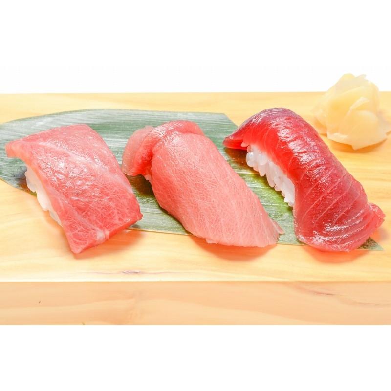 (マグロ まぐろ 鮪) ミナミマグロ 大トロ 中トロ 赤身 各200g超豪華3色セットM  (南まぐろ 南マグロ 南鮪 インドまぐろ 刺身)|tsukiji-ousama|06