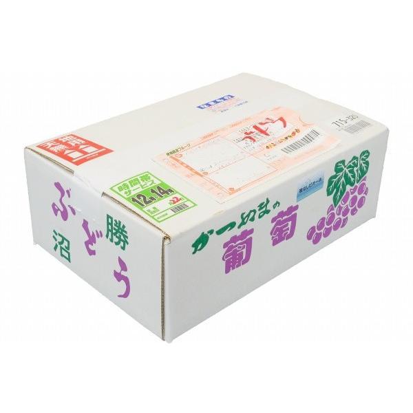 ピオーネ 山梨県勝沼産 種なし ピオーネ 1箱 2kg前後 650g前後×3房 3L サイズ 最高級特秀ランク (ぶどう ブドウ 葡萄)|tsukiji-ousama|14