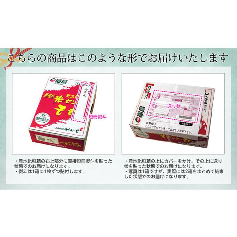 福島県産 「伊達の桃」 特秀品 約1.7kg×2箱 (1箱:7〜9玉) 産地直送 ※常温 送料無料|tsukijiichiba|10