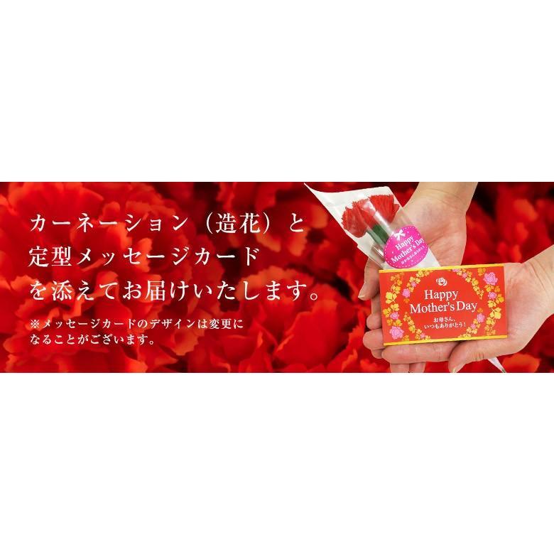 母の日 2021 熊本県産 糖度13度以上 デコポン 約2kg(風袋込) 7〜9玉 化粧箱 カーネーション(造花)+メッセージカード付※常温 送料無料|tsukijiichiba|03