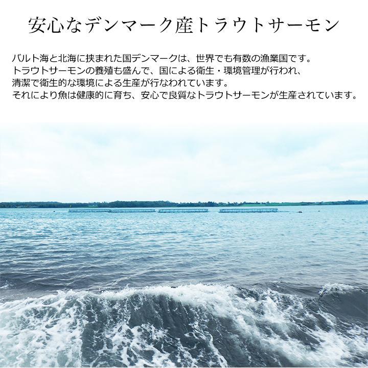 スモークサーモン 50g×10パック(500g)小分け 国内加工 トラウト お得用  ギフト おつまみ|tsukijiyamaichi|02