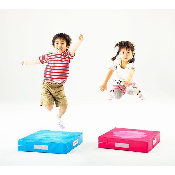 バランスクッション 平衡感覚 脚力が養える 子供用運動遊具 ホップジャンプベース 1枚