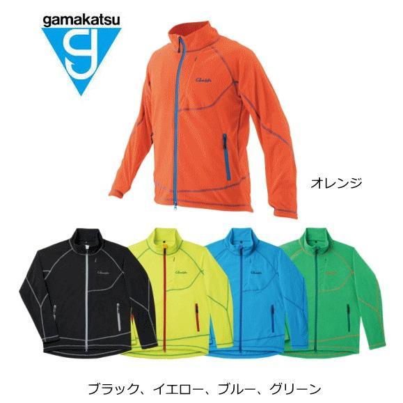 がまかつ ファインフリースジャケット GM-3501 ブルー Lサイズ (お取り寄せ商品) (年末感謝セール対象商品)