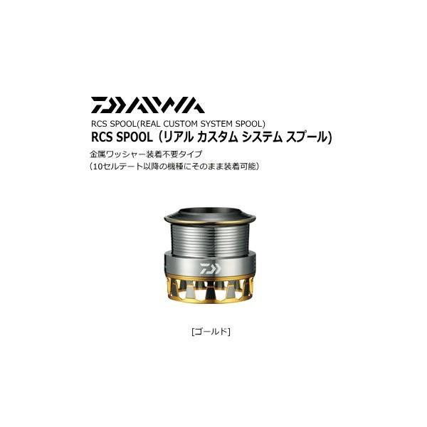 ダイワ RCS エアスプールII 2508PE ゴールド [お取り寄せ商品] (送料無料) (セール対象商品 11/29(金)13:59まで)