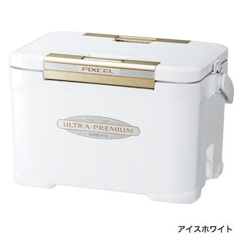 シマノ フィクセル ウルトラプレミアム 220 ZF-522R アイスホワイト 22L / クーラーボックス (O01) (S01) (セール対象商品 11/29(金)13:59まで)