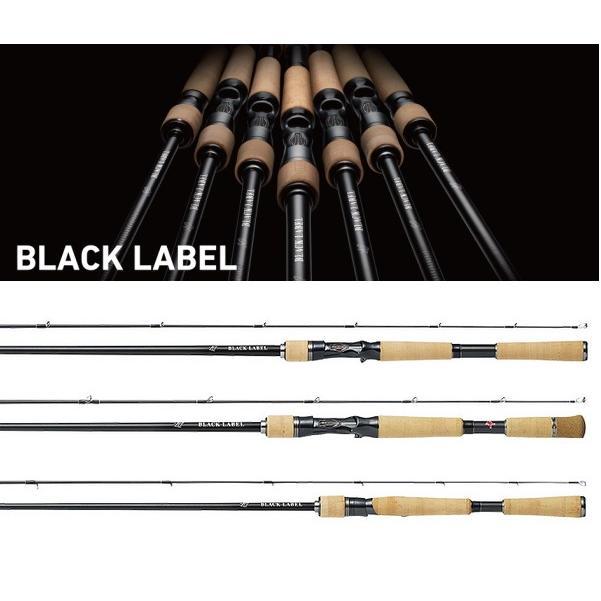 ダイワ ブラックレーベル LG (ベイトモデル) 661L+RB / バスロッド (O01) (D01) (大型商品 代引不可)