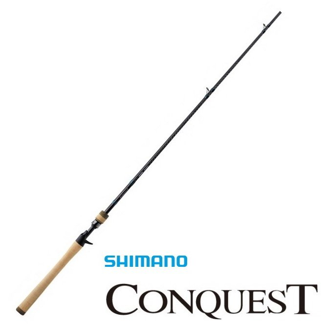 シマノ コンクエスト (ベイトモデル) 904C MBR / バスロッド (O01) (S01) (大型商品 代引不可)