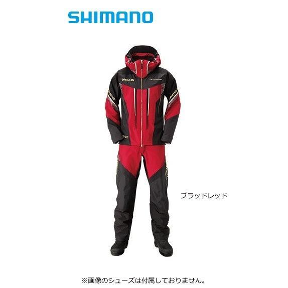 シマノ ネクサス ゴアテックス(R) レインスーツ リミテッド プロ RA-112S ブラッドレッド Sサイズ (S01) (O01)