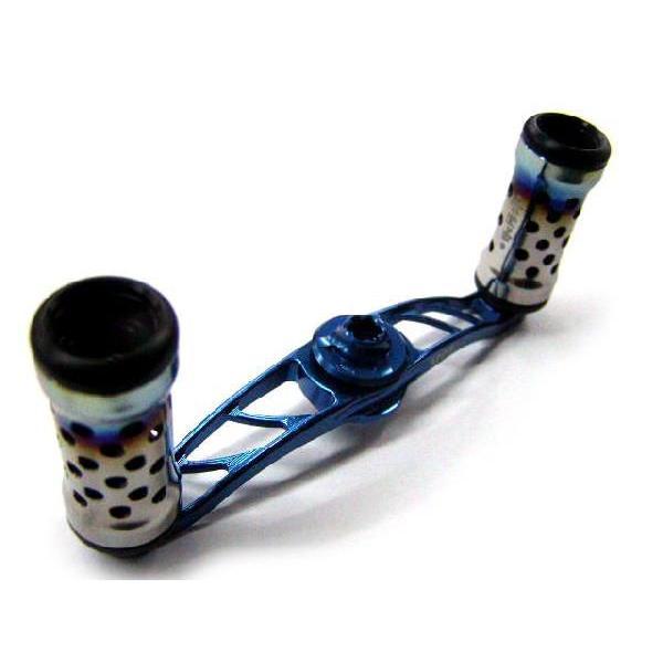 常吉/TSUNEKICHI ベイトキャスティング クランクハンドル C/BF 85mm 限定カラー:ブルー ベイトフィネス専用 ダイワ/右巻き
