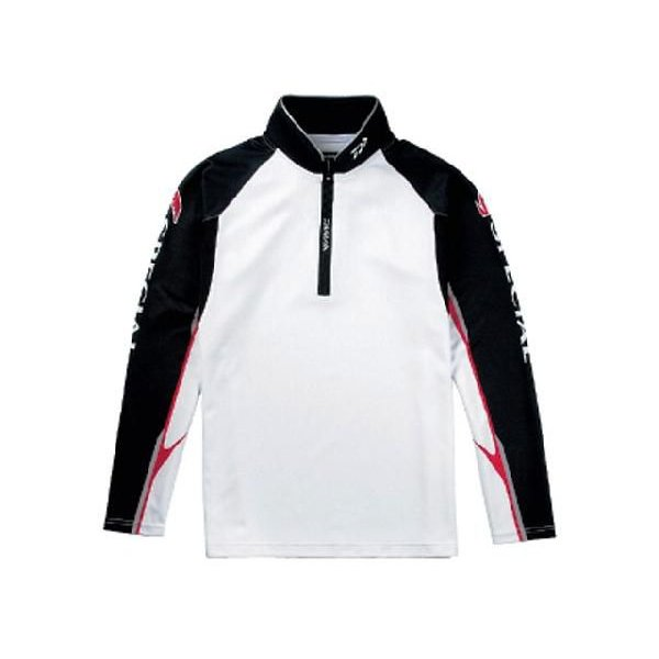ダイワ/DAIWA DE-7202 スペシャル ウィックセンサー・ジップアップ長袖メッシュシャツ (カラー:ブラック)