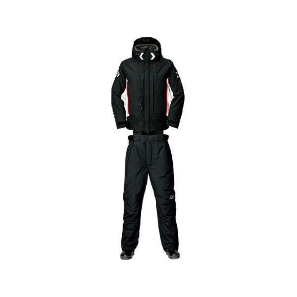 ダイワ/DAIWA DW-3403 ダイワ レインマックス ハイパー コンビアップ ハイロフト ウィンター スーツ  カラー:ブラック