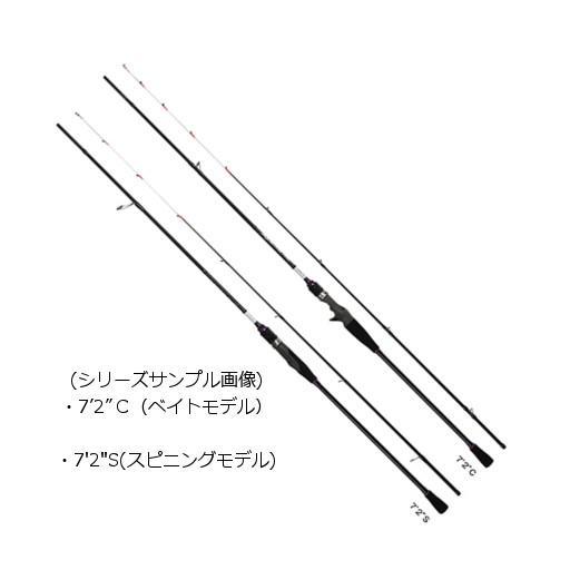 "PROX ロッド SQM72C スキッドメタル 7'2""−C(ベイトモデル) 【大型商品1】"