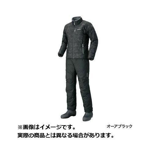 シマノ ウェア 18 MD−055Q ベーシックインシュレーションスーツ (カラー:オーアブラック)