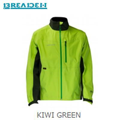 ブリーデン RAIN JACKET FISHING SP/eVent レインジャケット KIWI GREEN