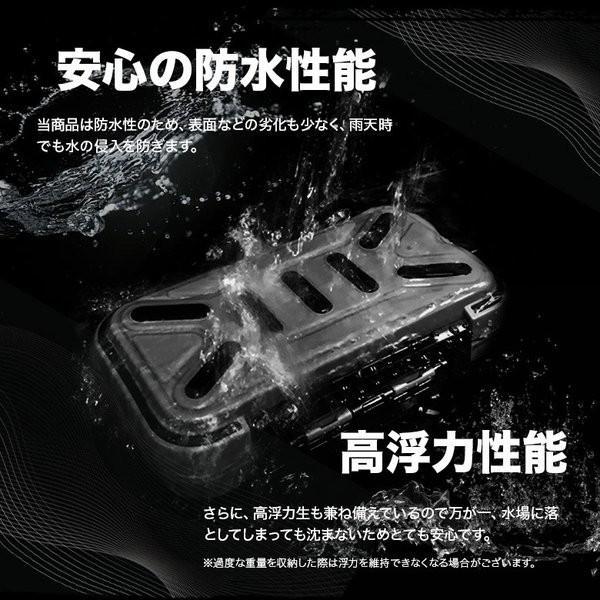 OEM工場直接仕入れ完全防水ストレージボックス サイズ S 新品 ガン玉、からまん棒、針、ルアーの収納・タックルケースに 訳あり コスパ最強|tsuriking|06