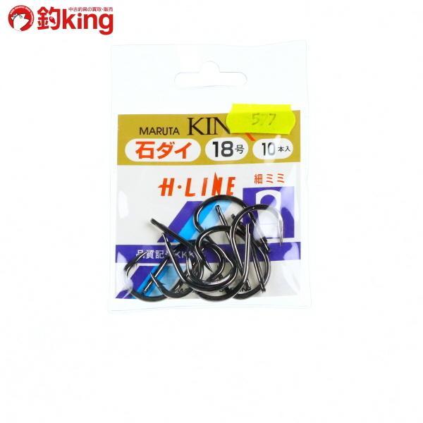 金龍 石鯛 (穴明)黒 細耳 18号 10入 新品|tsuriking
