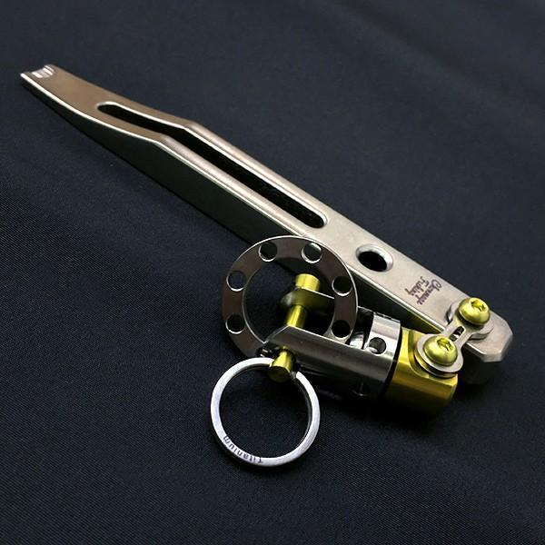 CHONMAGE FISHING チタン製 Ti スプリットリング 3個セット 新品 tsuriking 06
