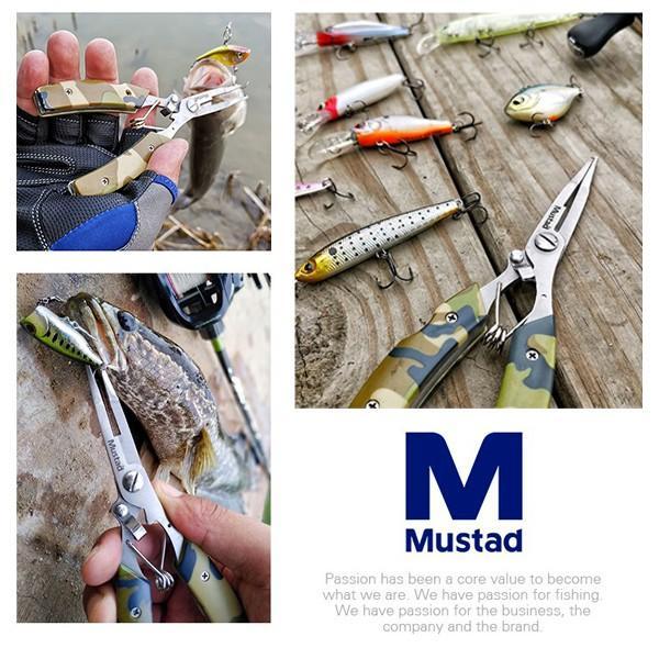 マスタッド Mustad フィネス マルチ スプリットリングプライヤー カモ MT023C 新品 ブラックバス、シーバス、ライトゲーム tsuriking 06