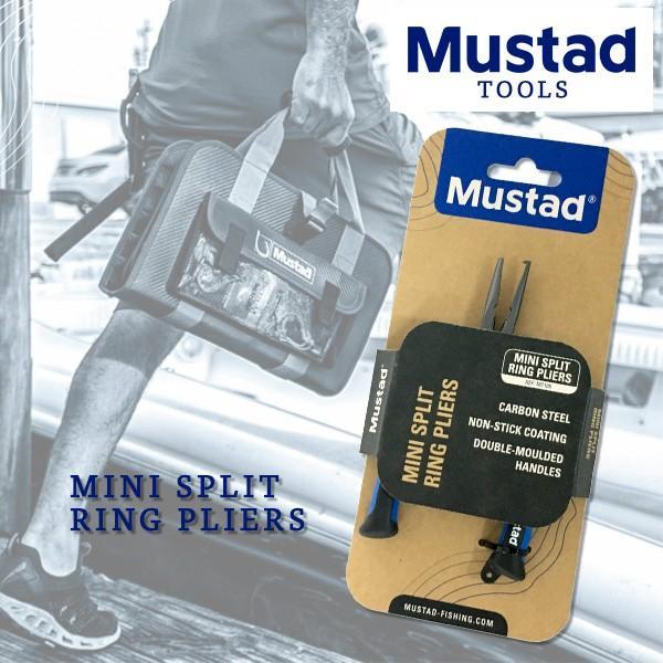 """マスタッド Mustad ミニスプリットリングプライヤー 5"""" MT105 新品 ブラックバス、シーバス 世界No.1フックメーカー 釣具 工具 tsuriking 04"""
