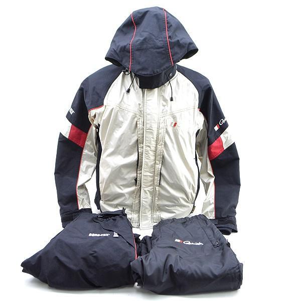 がまかつ ゴアテックス オールウェザースーツ GM-3043 Mサイズ/D080M (中古)|tsuriking