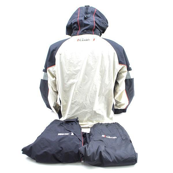 がまかつ ゴアテックス オールウェザースーツ GM-3043 Mサイズ/D080M (中古)|tsuriking|02