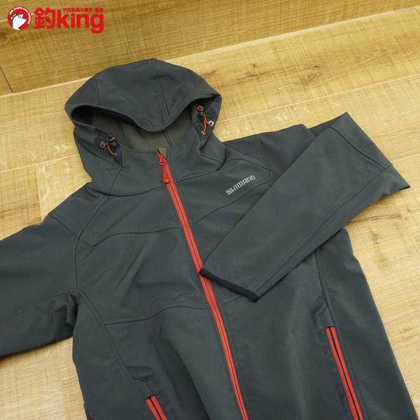 シマノ ストレッチ 3レイヤージャケット JA-040M Mサイズ/K498M ウェア 美品|tsuriking