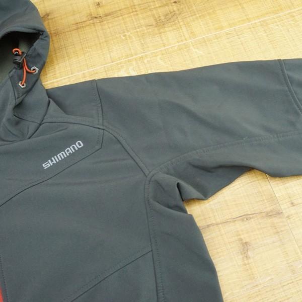 シマノ ストレッチ 3レイヤージャケット JA-040M Mサイズ/K498M ウェア 美品|tsuriking|02