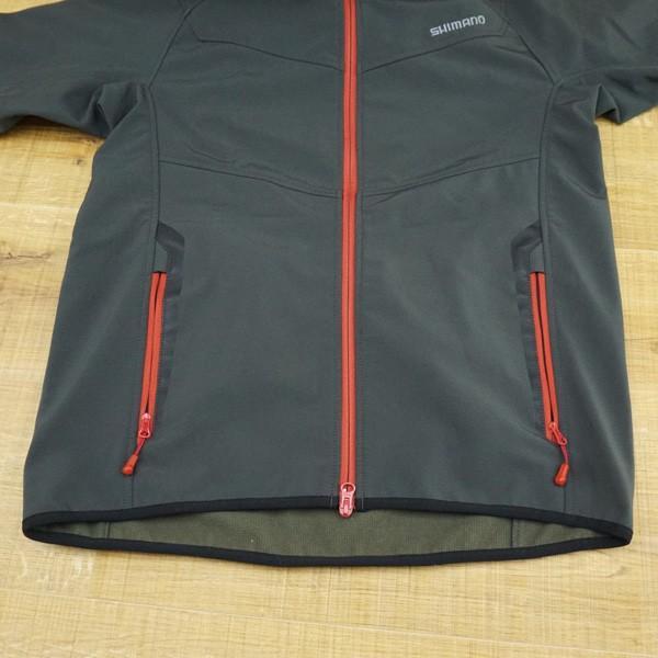 シマノ ストレッチ 3レイヤージャケット JA-040M Mサイズ/K498M ウェア 美品|tsuriking|06
