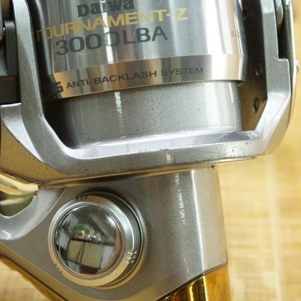 ダイワ トーナメント ISO Z 3000LBA 3000、2500 替スプール付/L336M 美品 スピニングリール|tsuriking|05